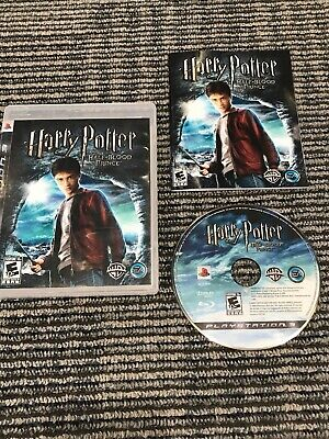 Harry Potter and the Half-Blood Prince (Sony PlayStation 3, 2009) Complete (Harry Potter And The Half Blood Prince Ps3)