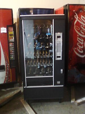 Automatic Products Snack Vending Machine Ap 6600 Slim Glass Front Refurbished