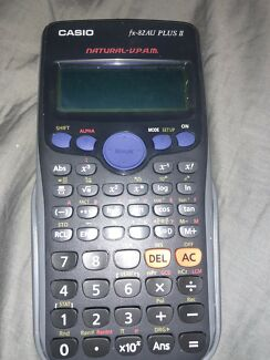 Year 12 books and calculators NEED GONE ASAP $150 if gone today