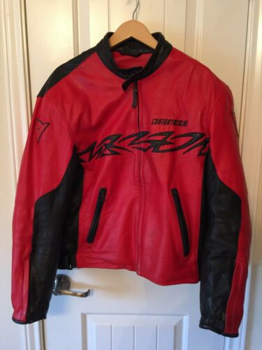 Dainese Moto Collection Motorcycle Jacket Size 52
