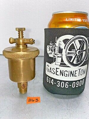 Lunkenheimer Ideal No. 1 T-handle Automatic Brass Grease Cup Hit Miss Vintage
