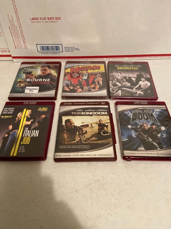 Lot of 6 Action Comedy HD DVD