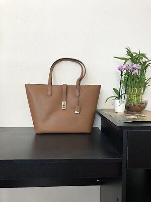 Michael Kors Karson Large Luggage Pebble  Leather Carryall Tote Bag