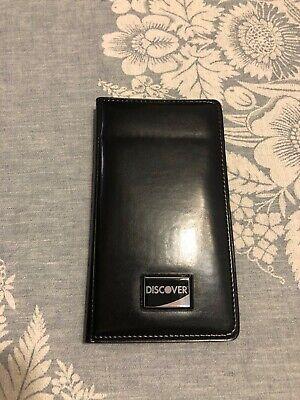 Restaurant Guest Check Holder Credit Card Holder Bill Presenter Server Book Pen