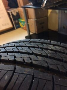 (4) Firestone Touring 15 inch Tires