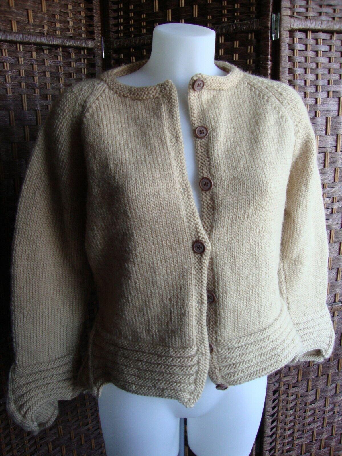 Gilet tricoté main t 38