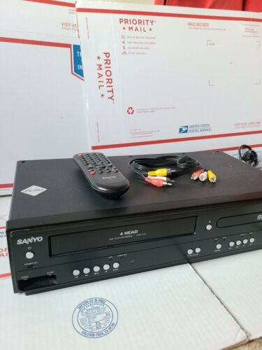 Sanyo FWDV225F VCR / DVD Player With REMOTE And AV Cables Tested Guaranteed - $159.99