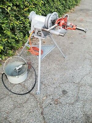 Ridgid 300 Power Drive Pipe Threader Machine