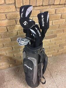 Tear drop right handed golf clubs, some not used, full set, some Rye Mornington Peninsula Preview