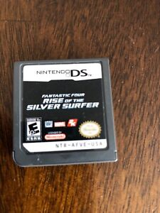 fantastic four rise of the silver surfer nintendo ds game