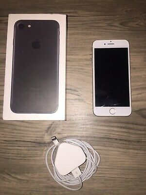 Apple iPhone 7 - 128GB - Silver (Unlocked) A1778 (GSM) Excellent Condition