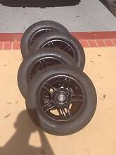 13 Inch CSA Wheels + New Tyres! (4x114.3) Carina Heights Brisbane South East Preview
