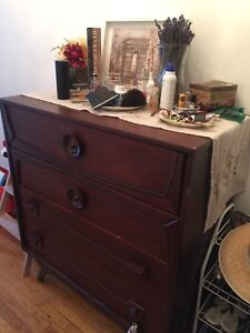 Very antique wood dresser for sale  Pick up only