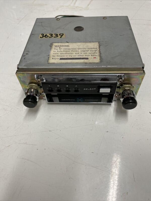 PIONEER QP-444 Car Stereo 8 Track Vintage 1973