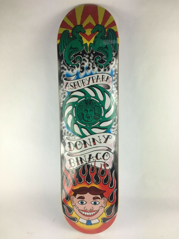 "Donny Binaco Asbury park  2003 skateboard deck Canadian maple quality deck 7.75"""