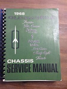 1968 Oldsmobile Chassis Service Manual