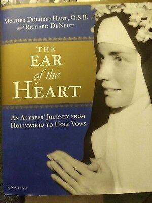The Ear of the Heart HAND SIGNED by Mother Dolores Hart! Actress! Nun! Elvis