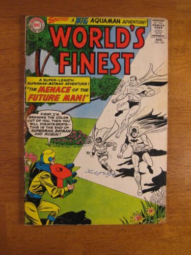 WORLD'S FINEST (Superman/Batman) #135 (VG/VG+) Bright & Colorful!
