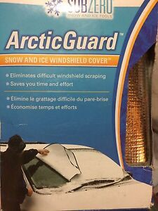 Artic Snow and Ice Windshield Cover