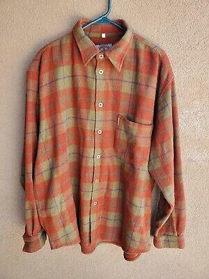 Mens Vintage Giorgio Armani Jeans Wool Shirt - XL 1990s