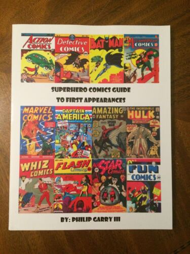 Superhero Comics Guide To First Appearances