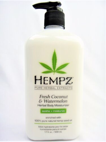 Hempz Natural Herbal Body Moisturizer: Fresh Coconut & Water