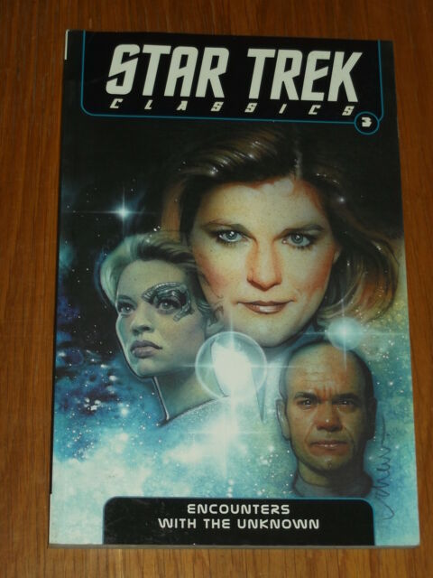 STAR TREK CLASSICS ENCOUNTERS WITH THE UNKNOWN VOL 3 IDW< 9781613772119