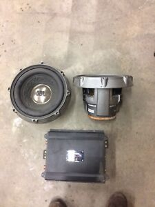 "10"" competition subs and amp"