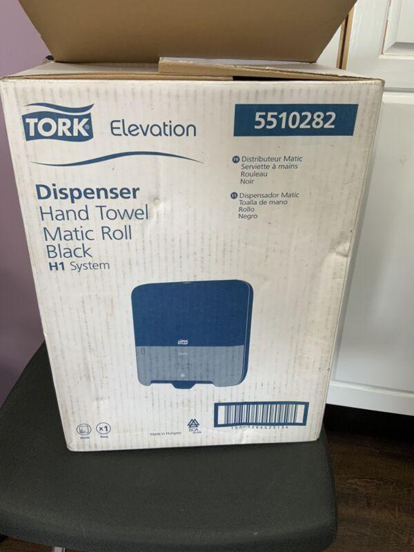 TORK (551028) ELEVATION HAND TOWEL MATIC ROLL BLACK