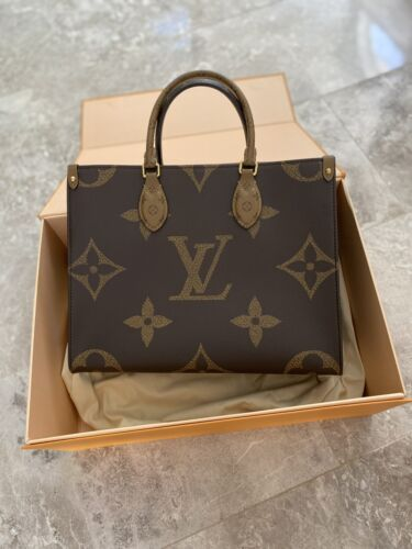Louis Vuitton OnTheGo MM Reverse Monogram Canvas Tote Bag