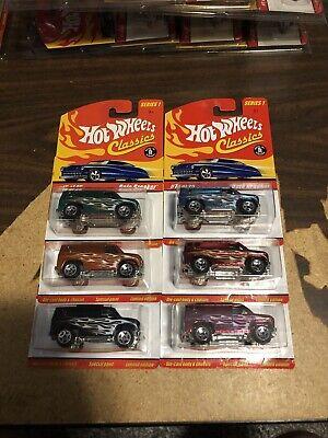 Hot Wheels Classics Series 1 Baja Breaker Lot Of 6 Different Colors