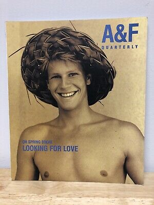 Abercrombie & Fitch Quarterly Spring Break 1998 Catalog Bruce Webber Rare