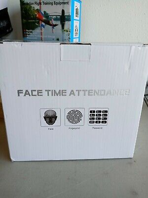 Face Recognition Fingerprint Time Clock Attendance Machine Access System Us N8y2