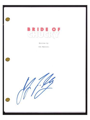 Jennifer Tilly Signed Autographed BRIDE OF CHUCKY Movie Script Screenplay COA