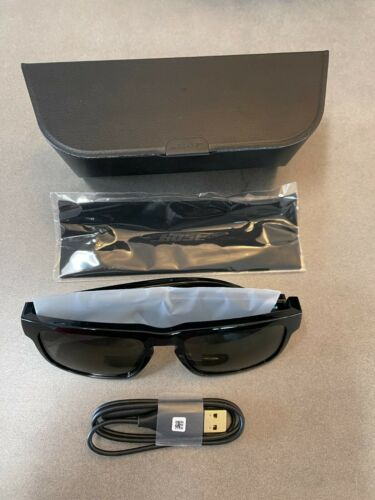 Bose Frames Tenor Rectangular Bluetooth Audio Sunglasses - Black 55mm