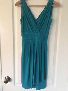 Ladies Turquoise Dress Sz XS