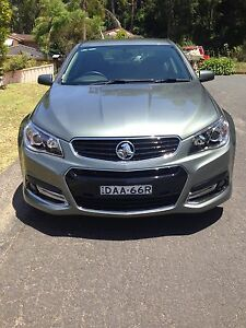 Holden commodore VF MY15 SV6 Storm,Prussian Steel 6 Speed Lane Cove Lane Cove Area Preview