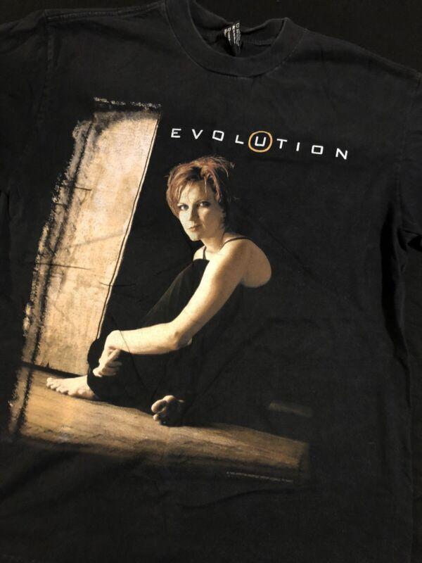 Vintage Martina McBride Evolution Tour T Shirt 1998-99 Size Medium RARE
