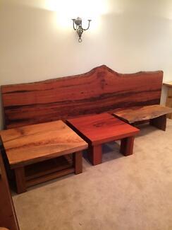 Hard wood natural live edge timber slab furniture & slabs & burls