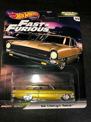 Hot Wheels Premium - Fast and Furious - '66 Chevy Nova - Real Riders
