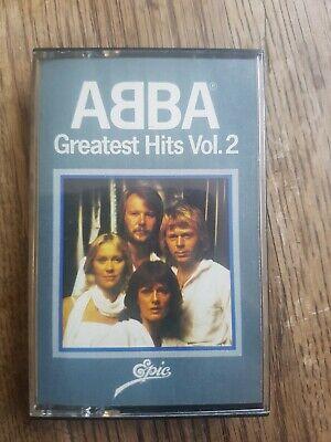 Abba Greatest Hits Vol 2 Music Cassette