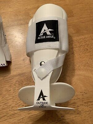 Active Ankle T2 Ankle Brace, Rigid Ankle Stabilizer Right or Left Size Small