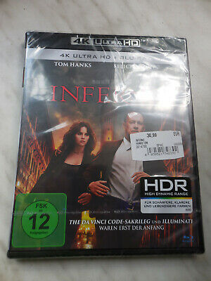 INFERNO. 4K Ultra HD Blu-Ray -