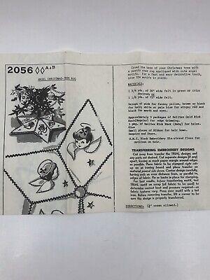 Vintage Capper's Weekly Mail Order Sewing Pattern #2056 Christmas Tree Skirt