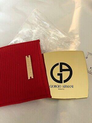 Giorgio Armani Beauty Mirror in RED pouch