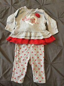 3-6 month Calvin Kline outfit