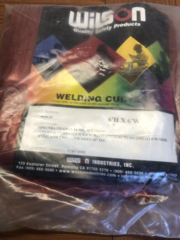 Wilson Industries Welding Curtain 6'H X 6'W