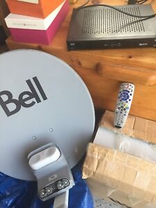 for sale Bell box and Dish receiver +remote control