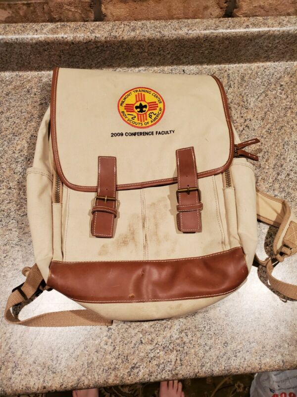 Philmont Training Center Backpack BSA 2009 Boy Scouts of America (A5 2/9)