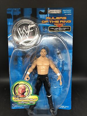 Jakks Pacific WWF WWE Ruler of the Ring JUSTIN CREDIBLE Series 4 Figure - NEW